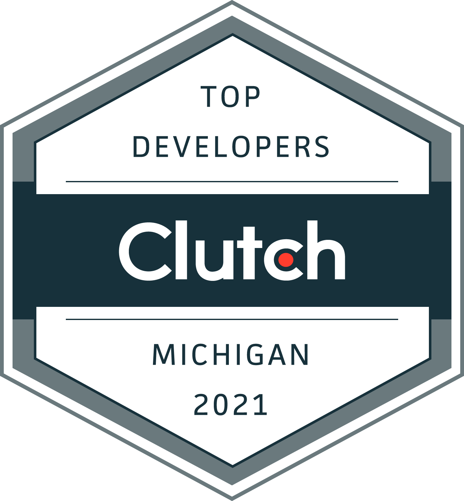 Top Web Developer by Clutch 2021